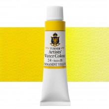 Turner : Artist's Watercolour Paint : 15ml : Permanent Yellow