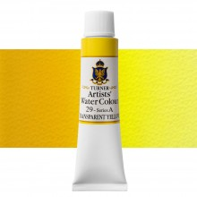 Turner : Artist's Watercolour Paint : 15ml : Transparent Yellow