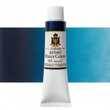 Turner : Artist's Watercolour Paint : 15ml : Phthalo Turquoise