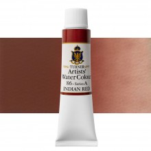 Turner : Artist's Watercolour Paint : 15ml : Indian Red