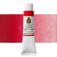 Turner : Artist's Watercolour Paint : 15ml : Napthol Red