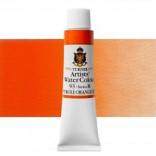 Turner : Artist's Watercolour Paint : 15ml : Pyrrole Orange Red Shade