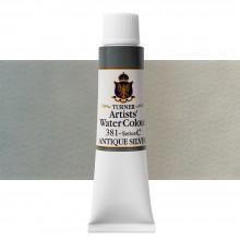 Turner : Artist's Watercolour Paint : 15ml : Antique Silver