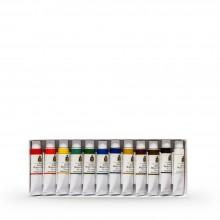 Turner : Artist's Watercolour Paint : 15ml : Set of 12 Colours