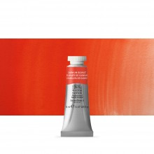 Winsor & Newton : Professional Watercolour Paint : 14ml : Cadmium Scarlet