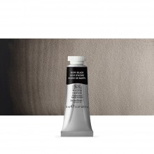 Winsor & Newton : Professional Watercolour Paint : 14ml : Ivory Black