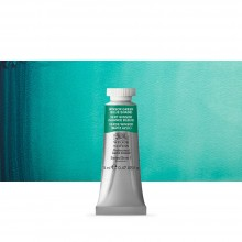 Winsor & Newton : Professional Watercolour : 14ml : Winsor Green (Blue Shade)