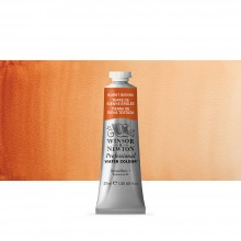 Winsor & Newton : Professional Watercolour Paint : 37ml : Burnt Sienna