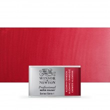 Winsor & Newton : Professional Watercolour : Full Pan : Alizarin Crimson