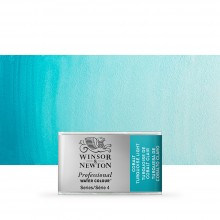 Winsor & Newton : Professional Watercolour Paint : Full Pan : Cobalt Turquoise Light