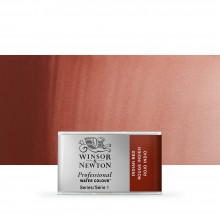 Winsor & Newton : Professional Watercolour Paint : Full Pan : Indian Red