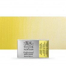 Winsor & Newton : Professional Watercolour Paint : Full Pan : Lemon Yellow