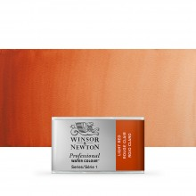 Winsor & Newton : Professional Watercolour : Full Pan : Light Red