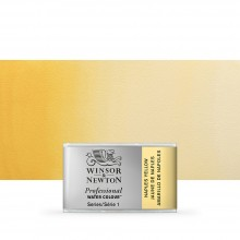 Winsor & Newton : Professional Watercolour : Full Pan : Naples Yellow