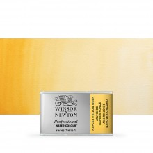 Winsor & Newton : Professional Watercolour : Full Pan : Naples Yellow Deep