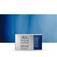 Winsor & Newton : Professional Watercolour : Full Pan : Prussian Blue
