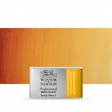 Winsor & Newton : Professional Watercolour Paint : Full Pan : Quinacridone Gold
