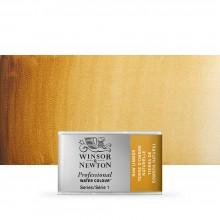 Winsor & Newton : Professional Watercolour : Full Pan : Raw Umber