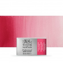 Winsor & Newton : Professional Watercolour Paint : Full Pan : Rose Madder Genuine