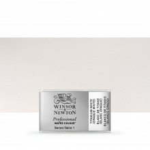 Winsor & Newton : Professional Watercolour Paint : Full Pan : Titanium White