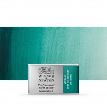 Winsor & Newton : Professional Watercolour : Full Pan : Viridian