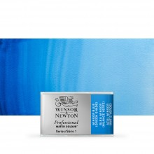 Winsor & Newton : Professional Watercolour Paint : Full Pan : Winsor Blue (Green Shade)
