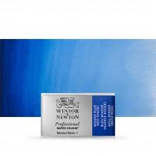 Winsor & Newton : Professional Watercolour : Full Pan : Winsor Blue (Red Shade)
