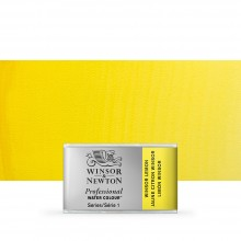 Winsor & Newton : Professional Watercolour Paint : Full Pan : Winsor Lemon