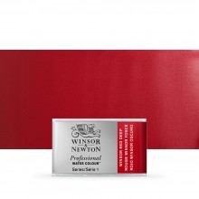 Winsor & Newton : Professional Watercolour Paint : Full Pan : Winsor Red Deep