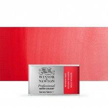 Winsor & Newton : Professional Watercolour : Full Pan : Winsor Red