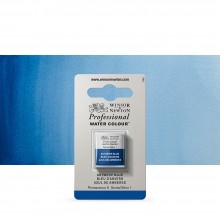 Winsor & Newton : Professional Watercolour Paint : Half Pan : Antwerp Blue
