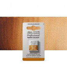 Winsor & Newton : Professional Watercolour Paint : Half Pan : Burnt Umber