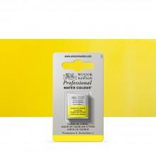Winsor & Newton : Professional Watercolour Paint : Half Pan : Cadmium Lemon