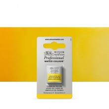 Winsor & Newton : Professional Watercolour Paint : Half Pan : Cadmium Yellow