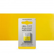 Winsor & Newton : Professional Watercolour Paint : Half Pan : Cadmium Yellow Pale