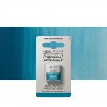 Winsor & Newton : Professional Watercolour : Half Pan : Cobalt Turquoise
