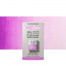 Winsor & Newton : Professional Watercolour Paint : Half Pan : Cobalt Violet