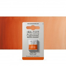Winsor & Newton : Professional Watercolour Paint : Half Pan : Light Red