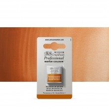 Winsor & Newton : Professional Watercolour Paint : Half Pan : Magnesium Brown
