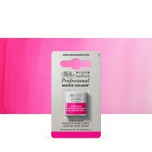 Winsor & Newton : Professional Watercolour Paint : Half Pan : Opera Rose