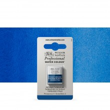 Winsor & Newton : Professional Watercolour Paint : Half Pan : Phthalo Turquoise