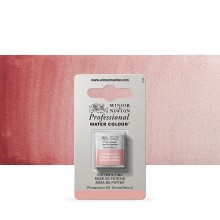 Winsor & Newton : Professional Watercolour : Half Pan : Potters Pink