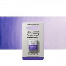 Winsor & Newton : Professional Watercolour : Half Pan : Ultramarine Violet