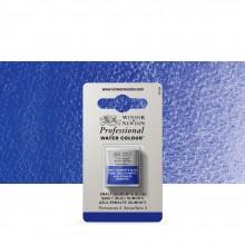Winsor & Newton : Professional Watercolour : Half Pan : Smalt (Dumont's Blue)