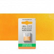 Winsor & Newton : Professional Watercolour : Half Pan : Cadmium-Free Orange
