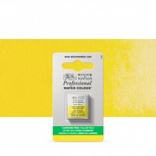 Winsor & Newton : Professional Watercolour : Half Pan : Cadmium-Free Yellow Pale