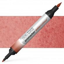 Winsor & Newton : Watercolour Marker : Burnt Red