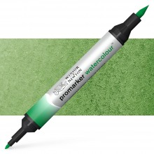 Winsor and Newton : Watercolour Marker : Hooker's Green