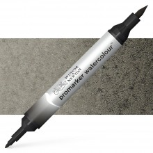 Winsor and Newton : Watercolour Marker : Ivory Black