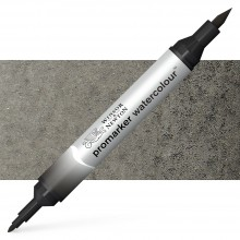 Winsor and Newton : Watercolour Marker : Lamp Black